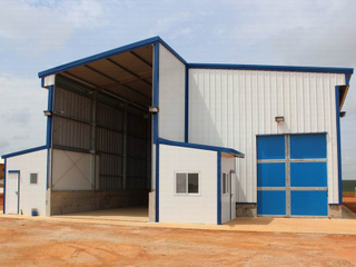 Prefab Metal Steel Sheds for Sale