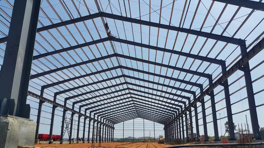 Prefabricated Steel Warehouse Project in Uganda