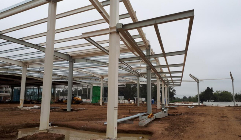 Steel Structure Shopping Mall Building