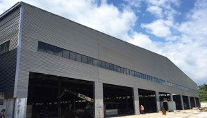 Panama Pre Engineered Steel Building