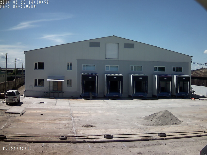 Russia Steel Structure Refrigerated Warehouse - Fruit Vegetable Cold Storage Warehouse