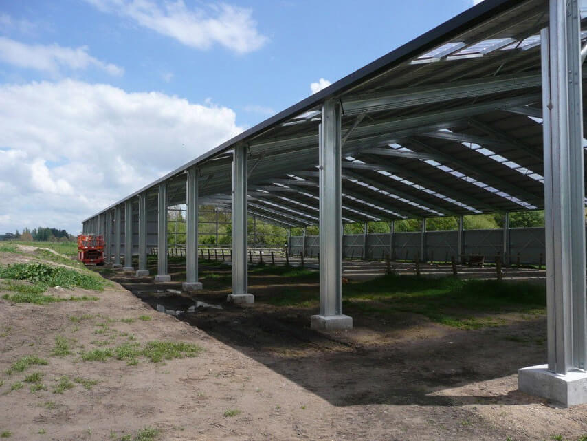 Steel Structure Horse Arena Construction