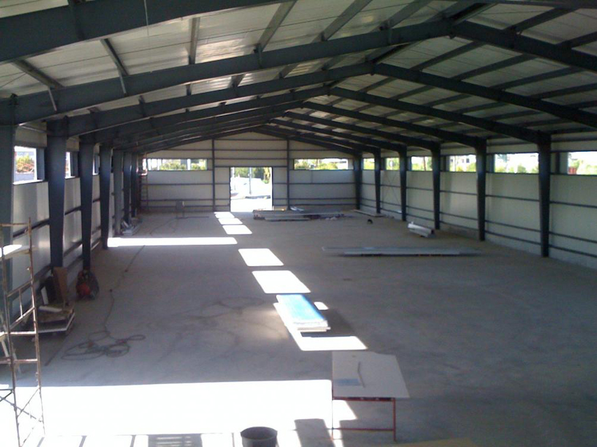 Pre Engineered Structural Steel Warehouse Construction