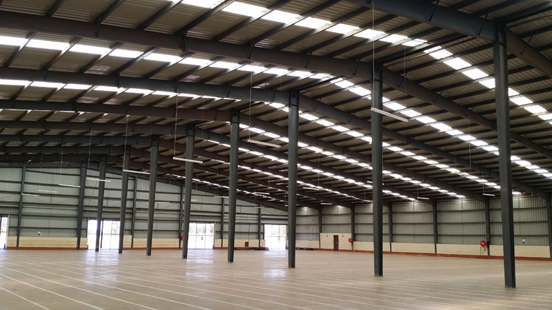 Malawi Steel Frame Warehouse