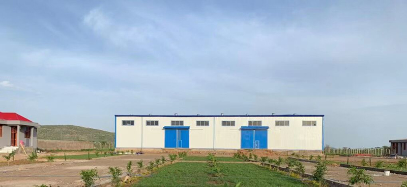 Ethiopia Bottled Water Factory Building