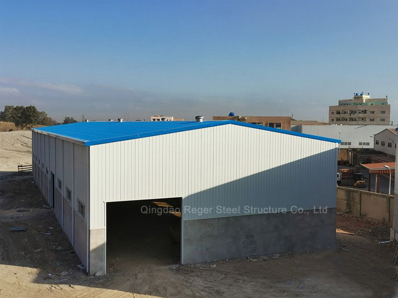 Algeria Ceramic Factory Steel Structure