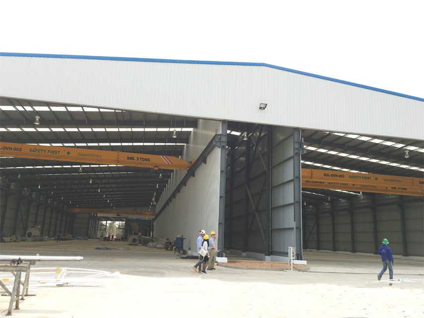 Thailand Industrial Steel Structure Painting Workshop