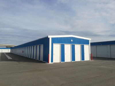 Prefab Small Metal Warehouse Buildings