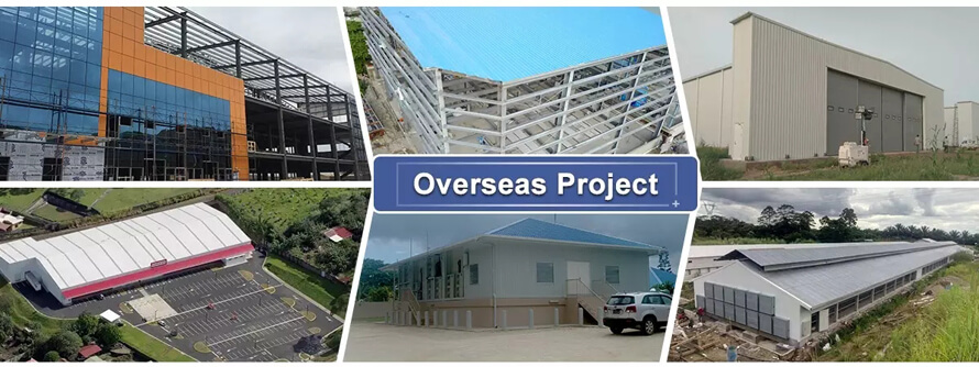 Overseas Steel Structure Projects - Qingdao Reger Structural Steel Fabricator