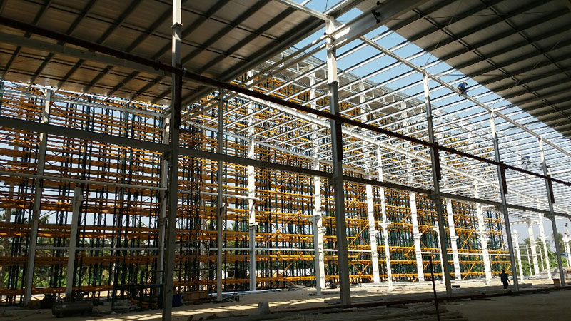 Steel Structure Retail Warehouse