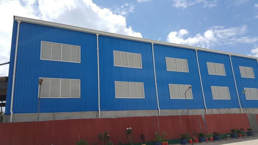 bangladesh steel building warehouse