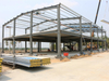 Two-Story Steel Frame Structure Warehouse
