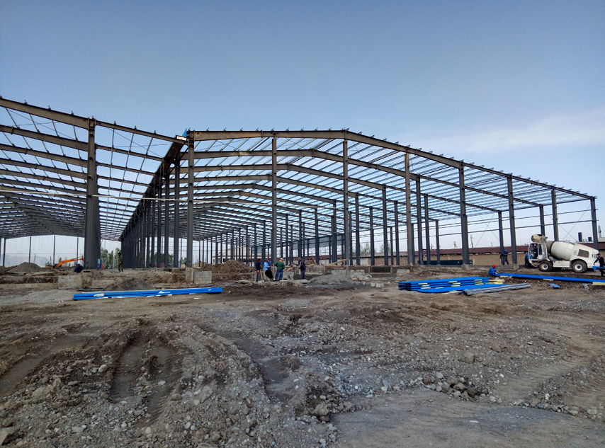 Steel Frame of Cold Storage Warehouse